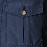 Mason & Sons | Anthony Sinclair Safari Jacket - Navy - 3