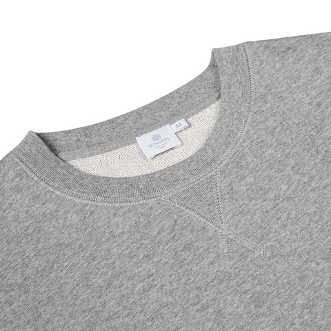 Cotton Loopback Sweatshirt