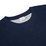 Mason & Sons | Sunspel Loopback Sweatshirt in Navy -2