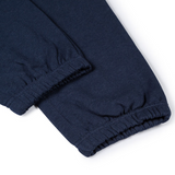 Mason & Sons | Sunspel Cotton Loopback Track Pant in Navy -3