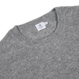Mason & Sons | Sunspel Cashmere Sweatshirt in Grey -2