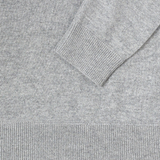 Mason & Sons | Sunspel Cashmere Zip Hoody in Grey - 3