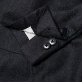 Mason & Sons | Anthony Sinclair Conduit Cut Suit in Charcoal Flannel - 3
