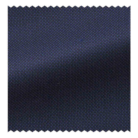 Four Seasons (130'S) Navy Blue Pinpoint