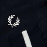 Mason & Sons | Fred Perry Long Sleeve Knitted Polo Shirt - 3
