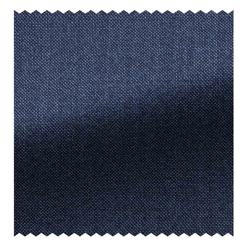 12.5 oz Super 120's Dark Navy Herringbone