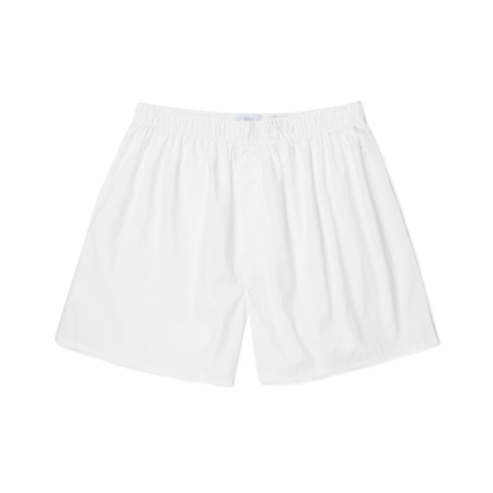 Cotton Poplin Boxer Shorts