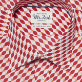 Mr. Fish Red Herring Print Shirt  |  Anthony Sinclair - 2