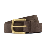 Mason & Sons | Playboy Belt Chocolate Suede - 2