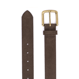 Mason & Sons | Playboy Belt Chocolate Suede - 3