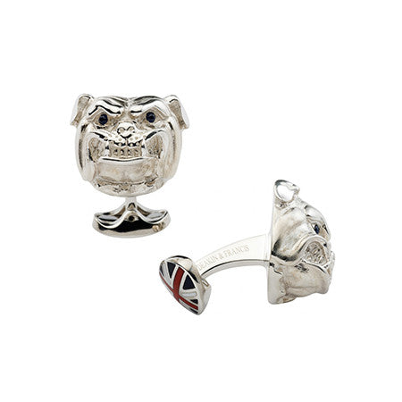 British Bulldog Cufflinks