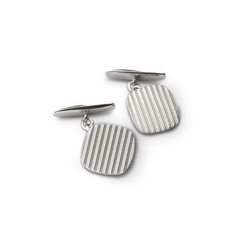 Engine-Turned Cufflinks