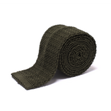 Anthony Sinclair Sage Knitted Necktie | Mason & Sons -1
