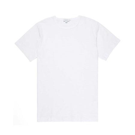 Cellular Cotton Crew Neck T-Shirt