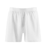 Cellular Cotton One-Button Shorts