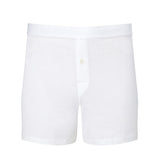 Superfine Cotton One-Button Shorts