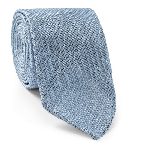 Made To Order Grenadine Tie in White