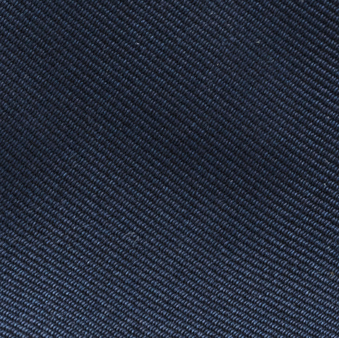 Made To Order Silk Tie in Navy