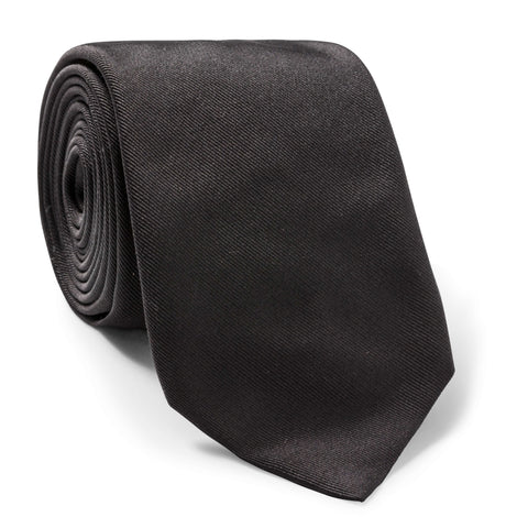 Made To Order Silk Tie in Black