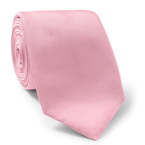 Made To Order Silk Tie in Pink