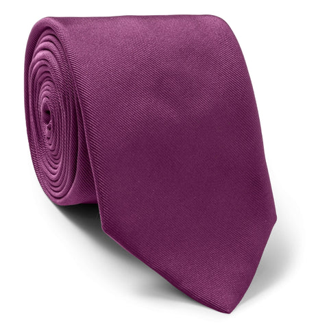Made To Order Silk Tie in Purple