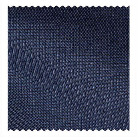 Super 110's Lightweight Navy Plain Weave
