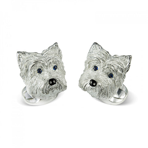 West Highland Terrier Cufflinks