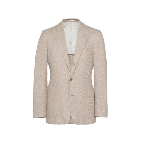 Unstructured 3D Cotton Jersey Sport Coat