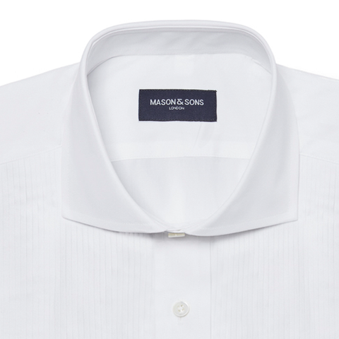 Double Cuff Dress Shirt in White