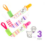 Billy Goat Baby Gear Pacifier clip girls fun cute trendy paciclips