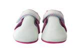 Soft Sole Pre-walker Shoes & Sock Set - Leather & Suede - Magenta - Infant 6 - 14 Mos. - Size 2 - 4