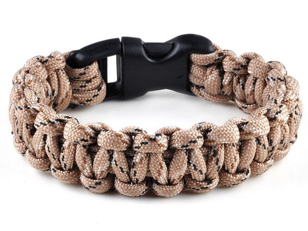 Tactical Paracord Survival Bracelet