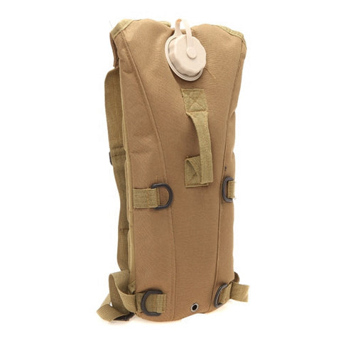 Tactical Hydration Pack Brown