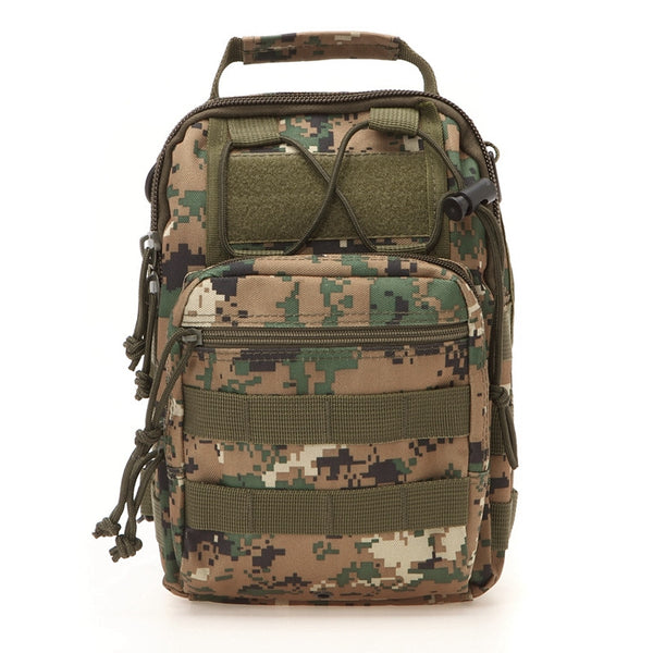 Tactical Shoulder Pack Digital Camo