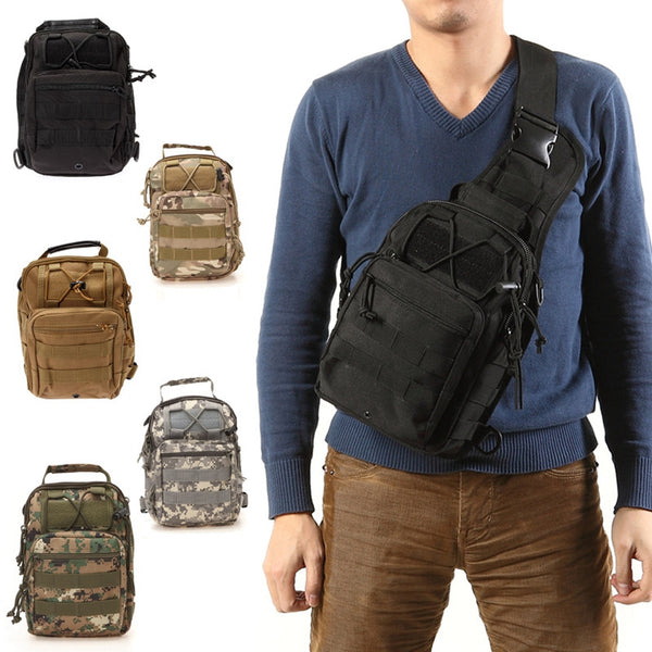 Tactical Shoulder Pack Tan