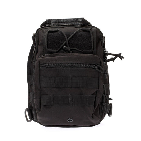 Tactical Shoulder Pack Black