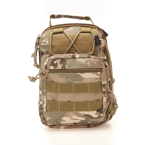 Tactical Shoulder Pack Brown Camo