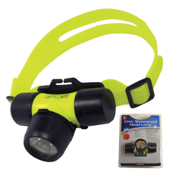 WATERPROOF 5 Watt LED Headlamp