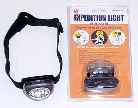 Hikers Hands Free 5 Led Headlight