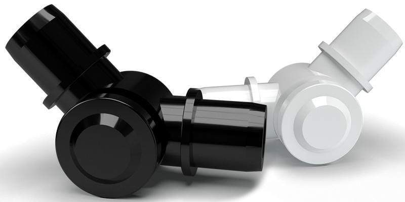 New!  FORMUFIT 1 in. Adjustable PVC Elbows.