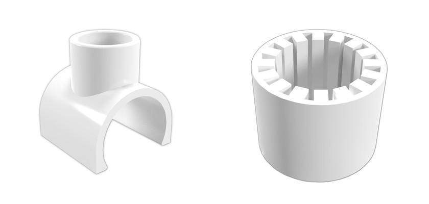 New PVC Pipe Size Conversion Adapters