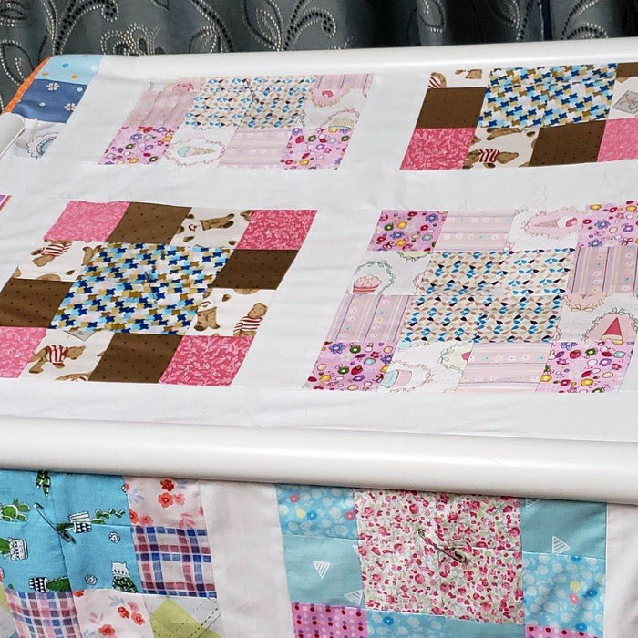 How to Build Your Own Floor Quilt Frame + Bonus Plan