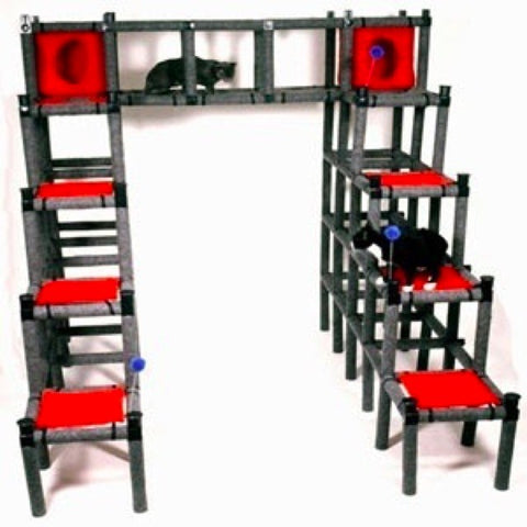 PVC Cat Playhouse