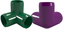 3-Way PVC Elbow Fitting