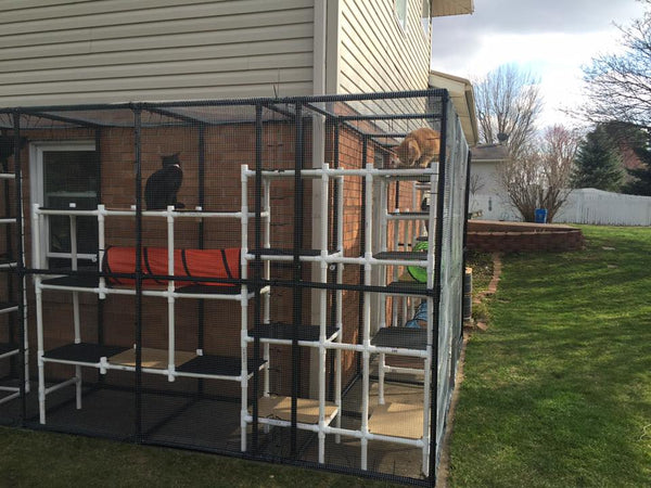 PVC Cat Patio Outdoor
