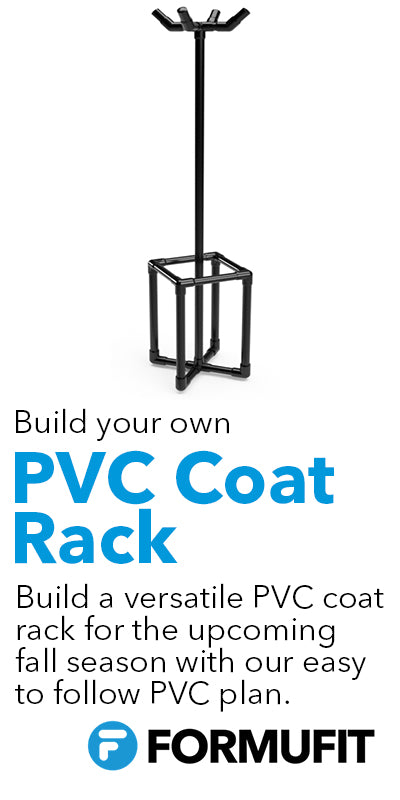 FORMUFIT PVC Pipe Coat Rack