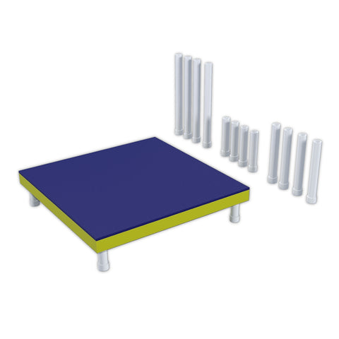 PVC Dog Agility Pause Table