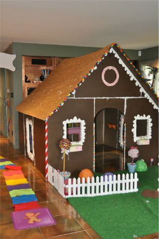 PVC Gingerbread Playhouse