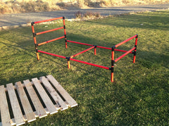 PVC Pipe Bed Frame