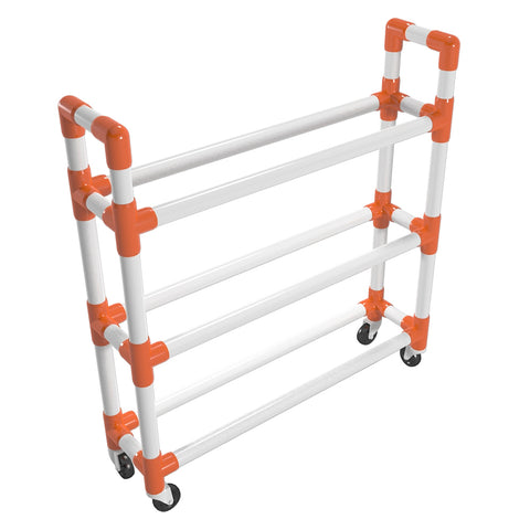 Create A Pvc Athletic Ball Storage Cart Formufit